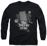 Long Sleeve: The Twilight Zone - Monologue T-Shirt