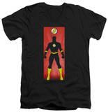 The Flash - Flash Block V-Neck T-shirts