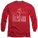 Long Sleeve: The Six Million Dollar Man - Target T-Shirt