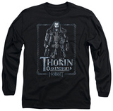 Long Sleeve: The Hobbit: An Unexpected Journey - Thorin Stare Shirts