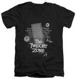 The Twilight Zone - Monologue V-Neck Shirts