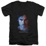 The Vampire Diaries - Damon V-Neck T-shirts