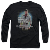 Long Sleeve: The Six Million Dollar Man - Technology Shirts