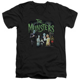 The Munsters - 1313 50 Years V-Neck T-shirts