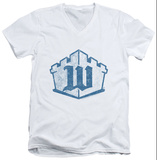 White Castle - Monogram V-Neck Shirts