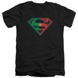 Superman - Portugal Shield V-Neck T-shirts