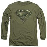 Long Sleeve: Superman - Super Camo Shirt