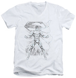 Superman - Super Sketch V-Neck T-Shirt