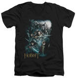 The Hobbit: An Unexpected Journey - Epic Adventure V-Neck T-shirts
