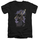 Watchmen - Rorschach Night V-Neck T-shirts