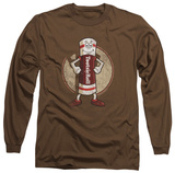 Long Sleeve: Tootsie Roll - Tootsie Man T-shirts