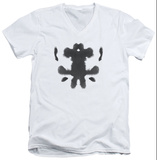 Watchmen - Rorschach Face V-Neck T-shirts