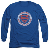 Long Sleeve: Superman - Muscle Club Shirt