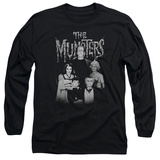 Long Sleeve: The Munsters - Family Portrait T-Shirt