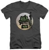 The Munsters - Moonlit Address V-Neck T-shirts