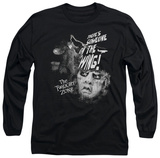 Long Sleeve: The Twilight Zone - Someone On The Wing T-shirts