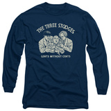 Long Sleeve: The Three Stooges - Without Cents Shirts