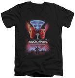 Star Trek - The Final Frontier(Movie) V-Neck T-shirts