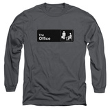 Long Sleeve: The Office - Sign Logo T-Shirt