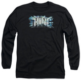 Long Sleeve: The Thing - Logo T-shirts