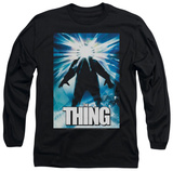Long Sleeve: The Thing - Poster T-Shirt
