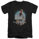 The Six Million Dollar Man - Technology V-Neck T-shirts