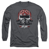 Long Sleeve: Top Gun - Goose Helmet Shirts