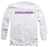 Long Sleeve: Zoolander - Logo T-Shirt