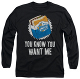 Long Sleeve: White Castle - Want Me Shirt