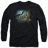 Long Sleeve: Wildlife - Spring Bald Eagles T-shirts