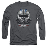 Long Sleeve: Top Gun - Iceman Helmet Shirt