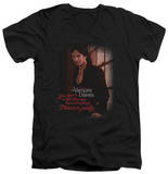 The Vampire Diaries - Threes A Party V-Neck T-shirts