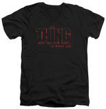 The Thing - Fear V-Neck Shirts
