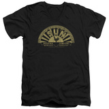 Sun Records - Tattered Logo V-Neck T-Shirt