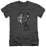 The Corpse Bride - Runaway Groom V-Neck T-shirts