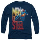 Long Sleeve: Superman - Steel Flight T-shirts