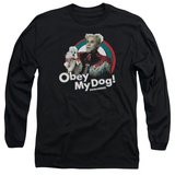 Long Sleeve: Zoolander - Obey My Dog T-shirts