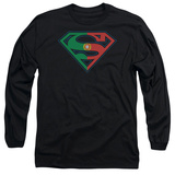 Long Sleeve: Superman - Portugal Shield T-shirts