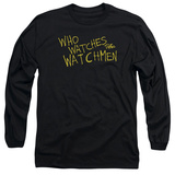 Long Sleeve: Watchmen - Who Watches T-shirts