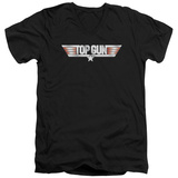 Top Gun - Logo V-Neck Shirts