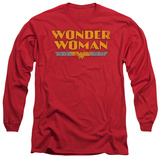 Long Sleeve: Wonder Woman - Wonder Woman Logo Shirts