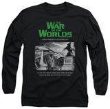 Long Sleeve: War Of The Worlds - Attack People Poster T-shirts