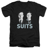 Suits - Harvey & Mike V-Neck T-shirts