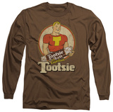 Long Sleeve: Tootsie Roll - Captain Tootsie T-Shirt