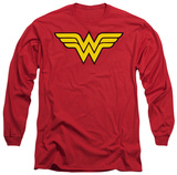Long Sleeve: Wonder Woman - Wonder Woman Logo Long Sleeves