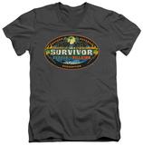 Survivor - Heroes Vs Villains V-Neck T-shirts