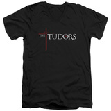 The Tudors - Logo V-Neck Shirt