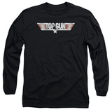 Long Sleeve: Top Gun - Logo Shirt