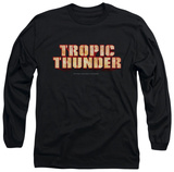 Long Sleeve: Tropic Thunder - Title T-shirts