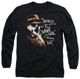 Long Sleeve: Watchmen - Whisper T-Shirt